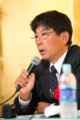全日本遊技事業協同組合連合会 阿部恭久理事長
