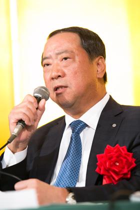 日本遊技機工業組合 金沢全求理事長