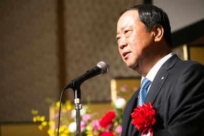 祝辞 金沢全求理事長