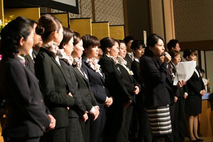女性社員による交流研修会の活動報告