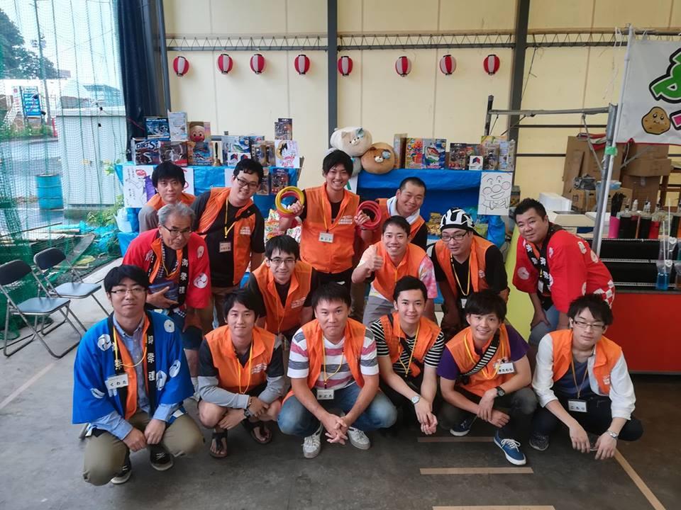ボランティア参加者たち