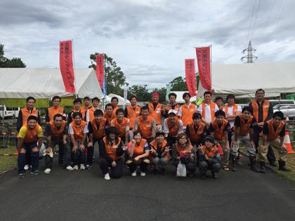 熊本地震ボランティア第四陣参加者たち